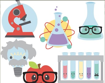 Back to School Clip Art -Personal and Limited Commercial Use- science clip art, Classroom Clipart