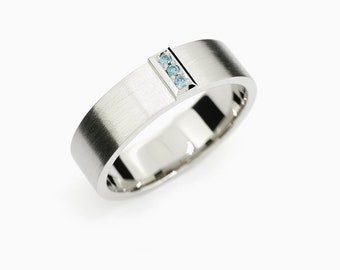 Wedding Bands Etsy Ie