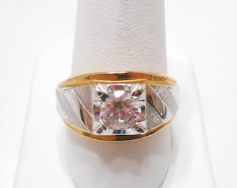 Vintage Man's 14KTGE Espo Ring (2009) Size 11.5