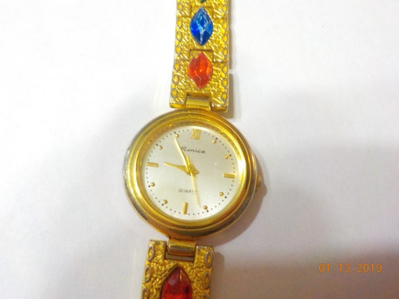 Vintage Ronica Ladies Quartz Watch (7391) Swiss Pa