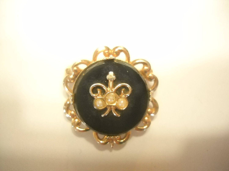 Vintage Accessocraft Brooch Pendant