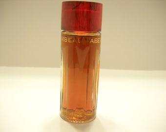 Vintage 1955 FLAMBEAU COLOGNE by FABERGE.  2 fl. oz. bottle--full bottle (9)