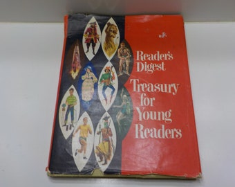 Vintage 1961 Reader's Digest (22) Treasury For Young Readers