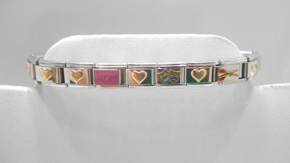 Vintage Charmed Expressions Stretch Bracelet (7102