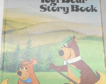 Copyight 1974 (19-E) Hanna-Barbera Authorized Edition, Yogi Bear Story Book, by Horace J. Elias