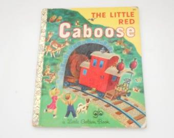 Vintage 1953 Copyright, The Little Red Caboose (26) A Little Golden Book, Golden Press