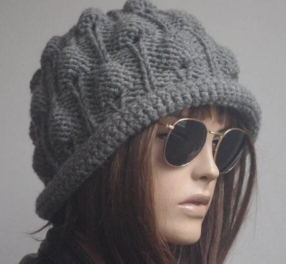 06f8955d7ab womens hats winter hat chemo hat hats dark gray hat beanie