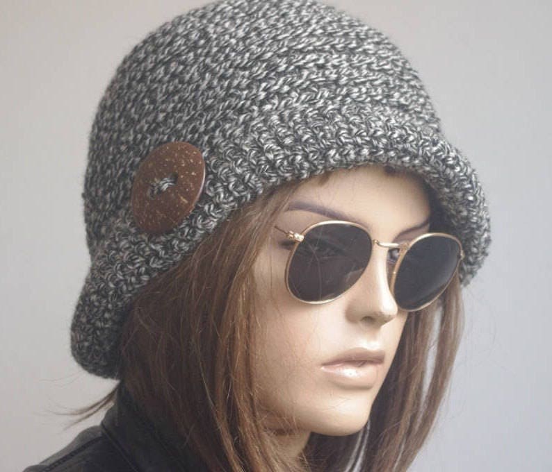 3cddae7d99a Winter hat womens hat chemo hat brimmed gifts for her brim