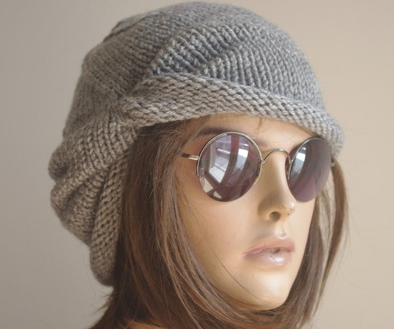 d91a9e3c556 Womens hat chemo hat cancer hat black Winter Accessories