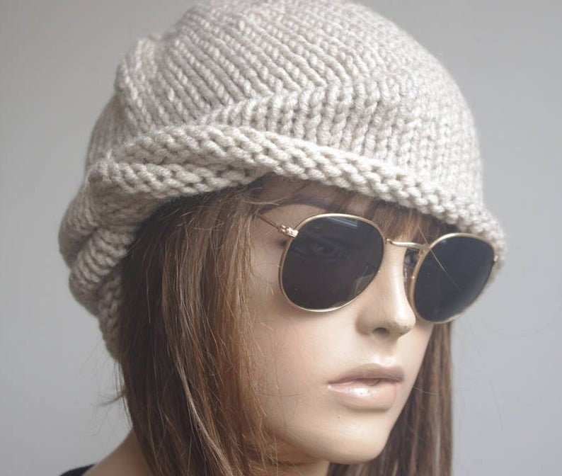 womens hats winter for chemo hat  women hats winters black image 0