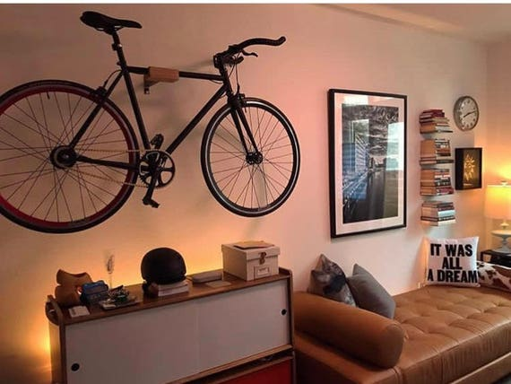 minimale fahrrad fahrrad wand aufh nger mount lagerung. Black Bedroom Furniture Sets. Home Design Ideas