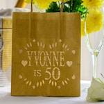 Personalised Birthday Bag - Lantern luminary perfect party decoration