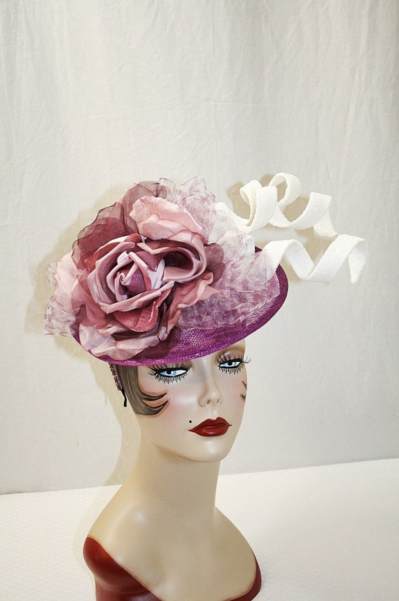 7eb18e72096 Kentucky Derby Hat Silk Fascinator Kentucky Derby Fascinator