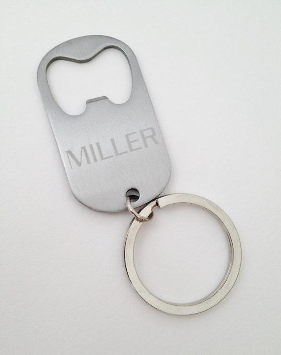 290ac08d0262 Groomsmen Gift Keychain Bottle Opener Engraved Personalized