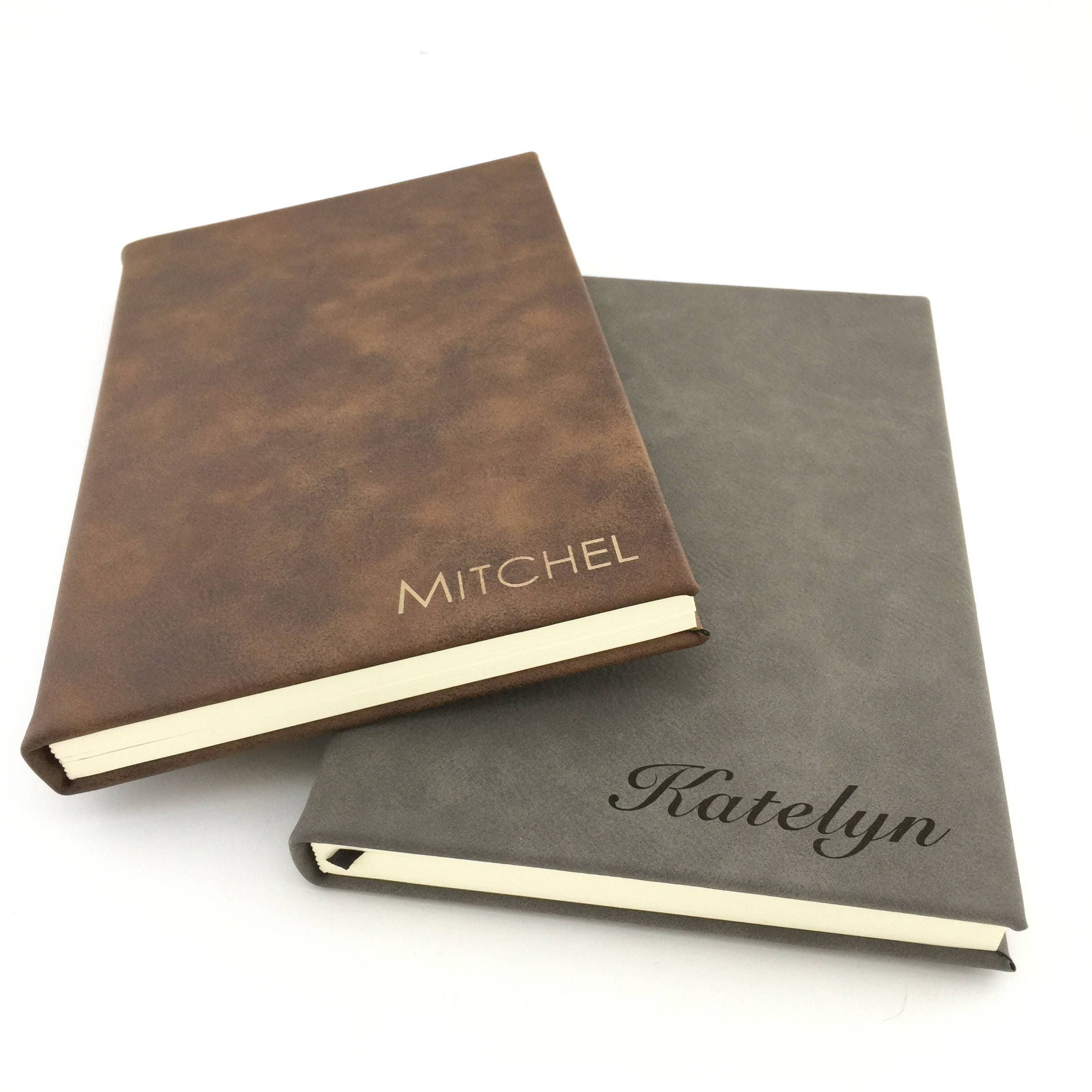 Personalized Journal Diary Monogram Bullet Journal Christmas Gift For Men Or Women Lined Journal Personalized Gift