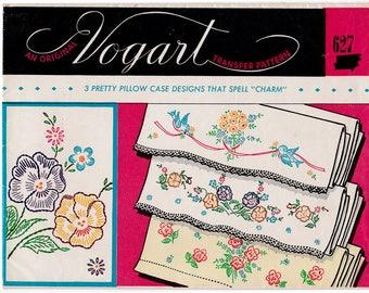 Vogart 287 Transfer Pattern Pillow