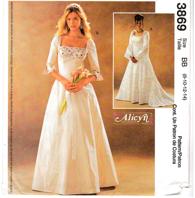 646fbc68ee9ad FF McCalls 3869 Alicyn femmes ou Petite Renaissance mariage   Etsy
