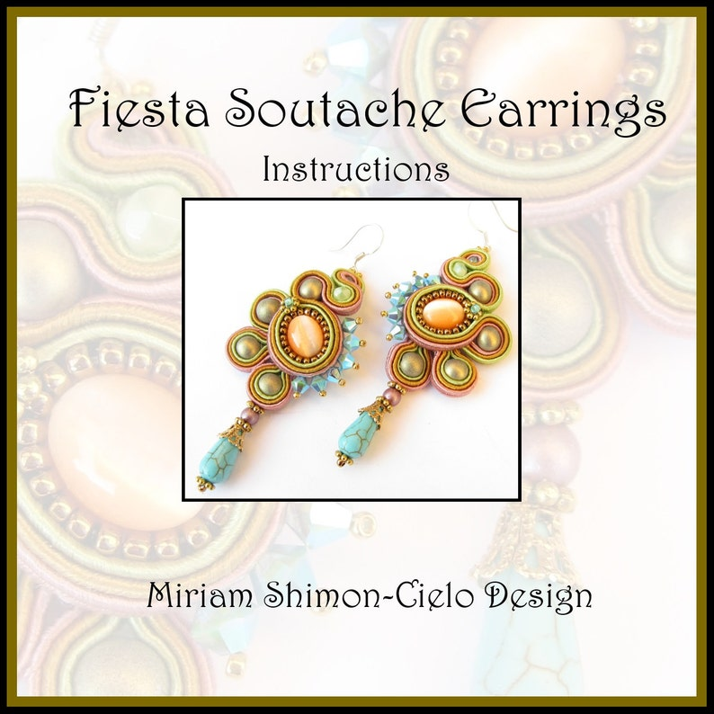 Fiesta Soutache Earring Tutorial image 0