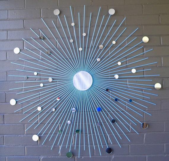 36 Sunburst Mirror Starburst Wall Art Contemporary Home | Etsy