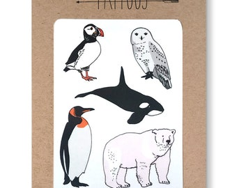Arctic Temporary Tattoos