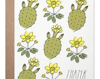 Thank You Yellow Cactus