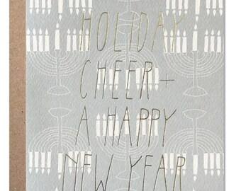 Holiday Cheer - Menorah