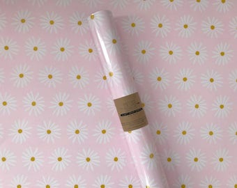 Pink Daisy Wrapping Sheet
