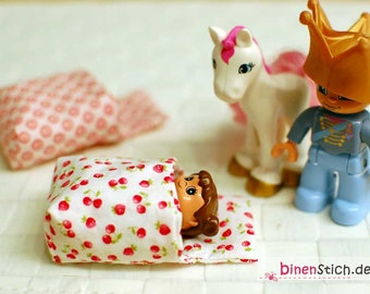 Instructions: Sew mini sleeping bag, suitable for Lego Duplo and others