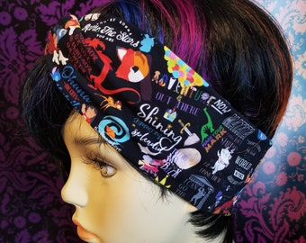 Faux knot head wrap- adult sized- Magical Adventure