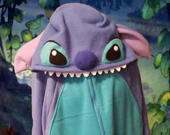 Stitch inspired adult Hoodie