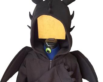 Toothless inspired adult Hoodie