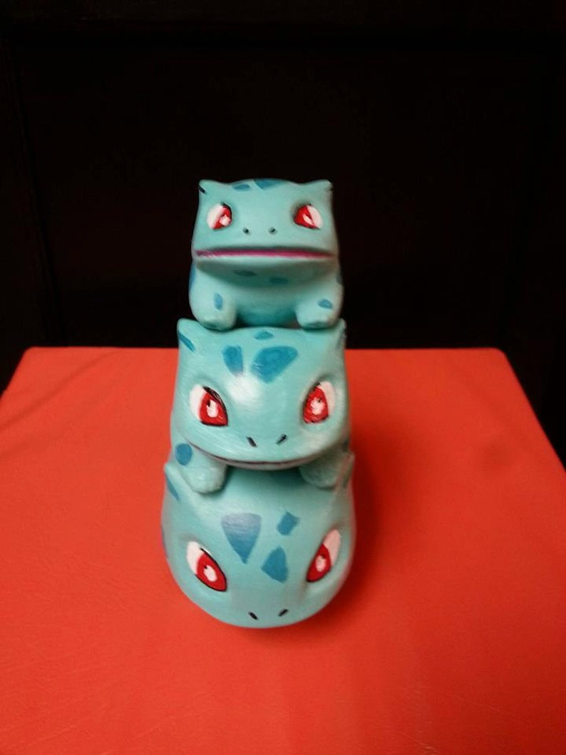 Bulbasaur or Oddish Planters in 3 sizes image 0