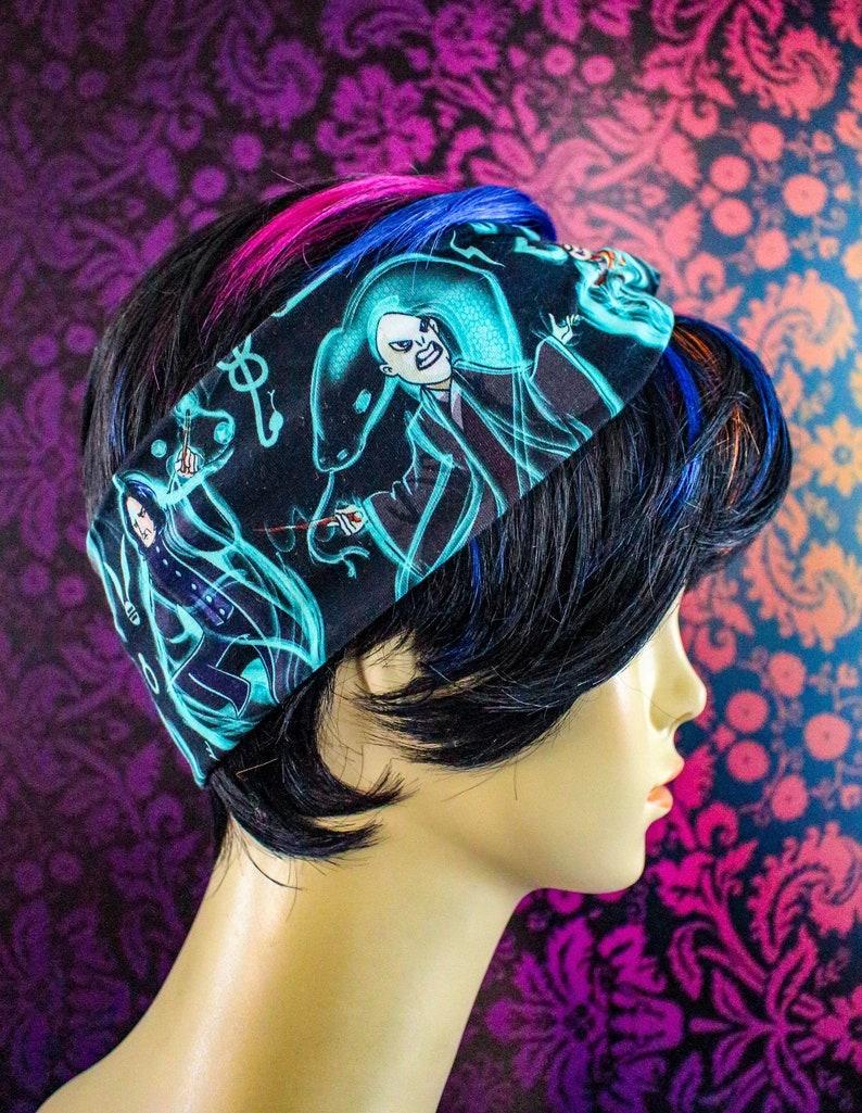 Faux knot head wrap adult sized Patronus image 0
