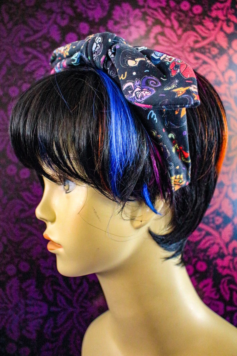Faux knot head band adult sized Magical Villains image 0