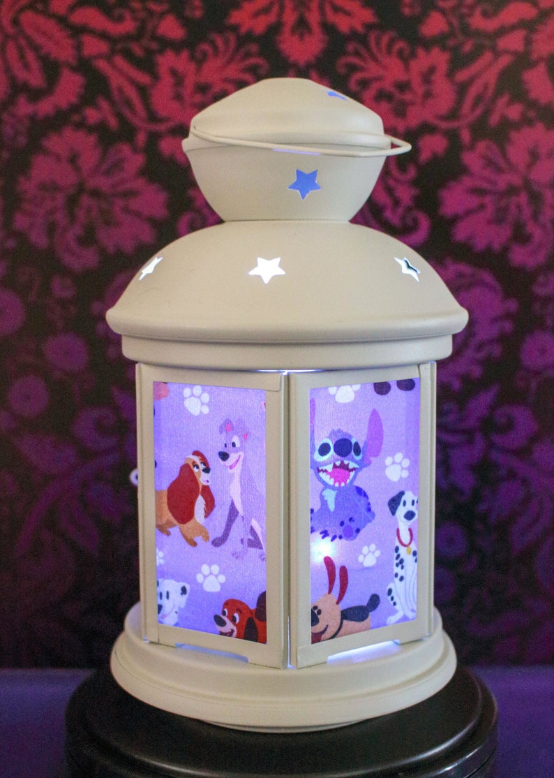 Puppy Love Fairy Light Lantern image 0