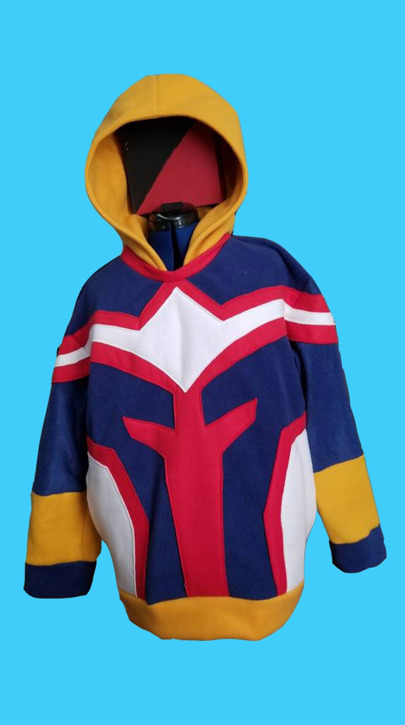 All Might inspired adult Hoodie image 0