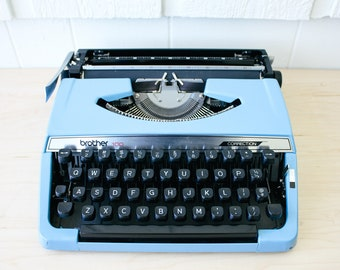 Brother 100 Correction Working Portable Manual Typewriter