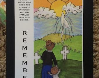 Memorial Remember the Fallen