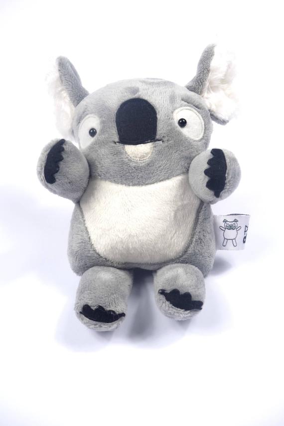 Soft Toys With Pockets : Pocket softie koala pdf soft toy plush sewing pattern
