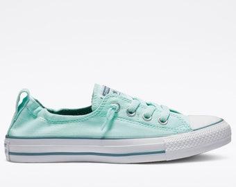 0152c4f011c14 Tiffany blue converse   Etsy