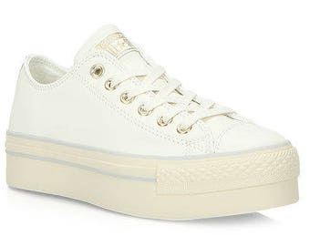 Dames Plateauzool & Nette Sneakers | Etsy NL
