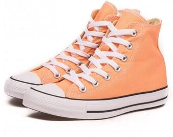 Peach converse | Etsy