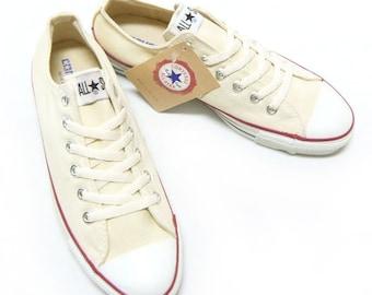 c221a092594e Ivory Converse Low Top Canvas Beige Cream Off White Custom Bridal w   Swarovski Crystal Rhinestone Chuck Taylor All Star Wedding Sneaker Shoe