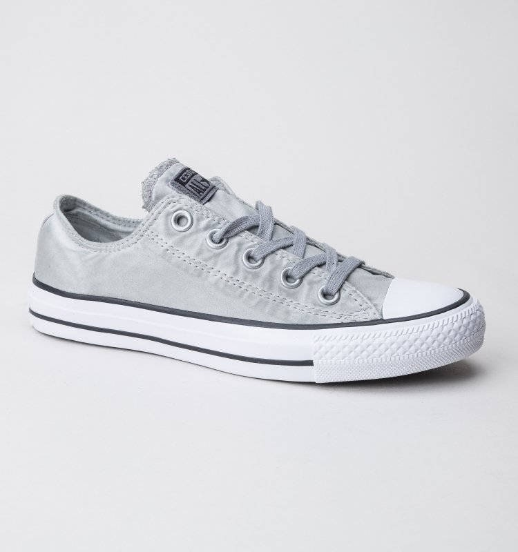 b9118057d403 Gray Silver Converse Low Top Wash Mono Custom Grey w  Swarovski Crystal  Rhinestones Grey Chuck Taylor All Star Wedding Bride Sneakers Shoes