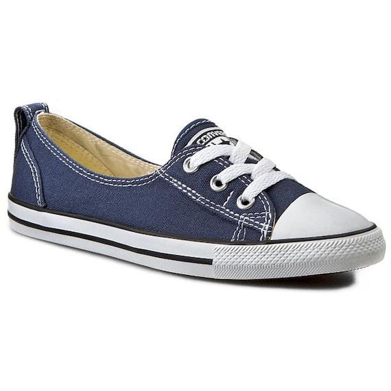 Blue Converse Slip ons Navy Ballet Low flats Wedding Lace Bridal flats w/ Swarovski Crystal Chuck Taylor Rhinestones All Star Sneakers Shoes