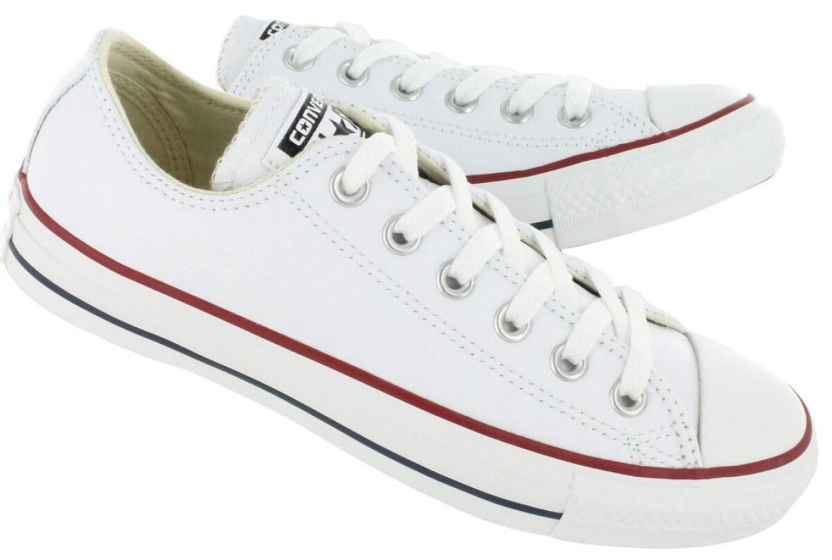05927b27d8ec White Converse Low Top Leather Ladies Mens Custom Bride Bling w  Swarovski  Crystal Rhinestones Chuck Taylor All Star Wedding Sneakers Shoes