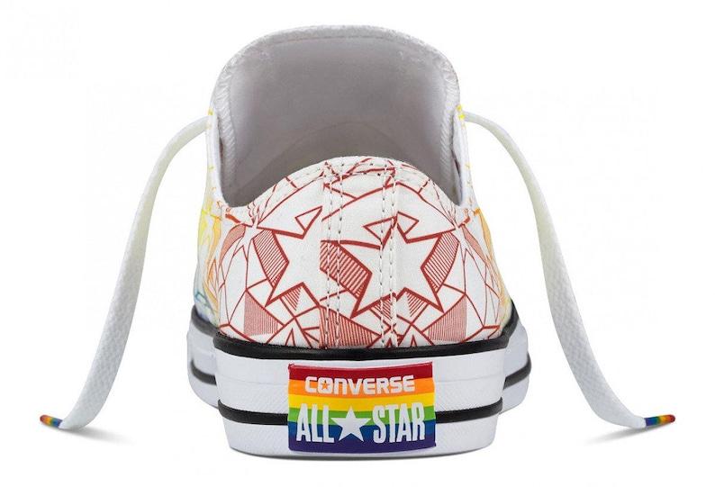 Pride Converse Low Top Rainbow Ladies 2017 Geo Star Custom