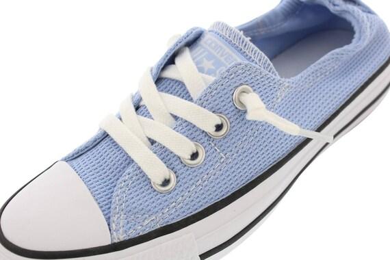 Blue Converse Shoreline Slip on Cool Boat Nautical w/ Swarovski Crystal Rhinestone Jewel Bling Chuck Taylor All Star Bride Sneakers Shoes