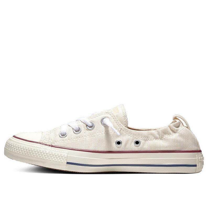 Light Green Converse Slip on Ivory Shoreline Pinstripe Gray Low Chuck Taylor All Star Custom w Swarovski Crystal school Sneakers Shoes