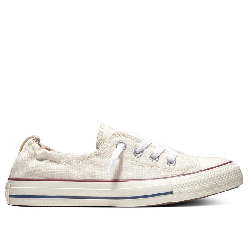 c11c156a734a Ivory White Converse Slip on Shoreline Twine Pinstripe Burgundy Low Chuck  Taylor All Star Custom w  Swarovski Crystal school Sneakers Shoes